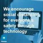 Encourage social distancing